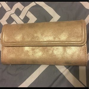Accessories - Gold Wallet